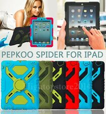 Pepkoo New Defender Military Heavy Duty Survivor Stand Case For iPad Mini/Mini 2