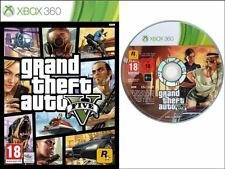 Grand theft auto 5 x box 360 cas & disque cake topper