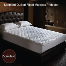 NEW ARRIVAL Standard Quilted Fitted Mattress Protector S / KS / D / Q / K