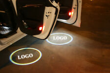 1 pair New LED Welcome Projector Logo Ghost Shadow Car Door light lamp Bombilla