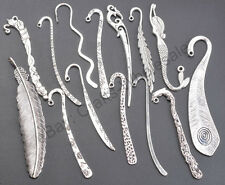 FREE SHIP 10pcs Tibetan Silver Charms Bookmarks U PICK TYPE For Jewelry Findings