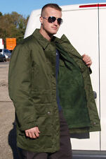 Genuine Swedish Army Surplus Jacket Cold Weather Parka With Fleece Liner