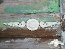 Chic Mouldings Shabby Furniture Appliques  Baroque Scrolls & Round Medallion Art
