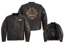 Harley Davidson Men Vault Leather Jacket Long Bar&Shield Wing L T 2XL 97178-14VM