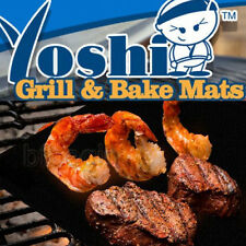 New BBQ Cooking Grill Hot Plate Mat Barbeque Liner Sheets Mats NONSTICK Grilling
