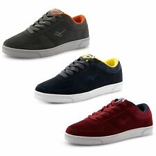 New Mens Gola Casual Lace Up Flat Suede Leather Retro Trainers Sizes UK 7-12