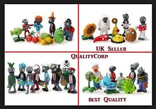 BRAND NEW PLANTS VS ZOMBIES ACTION FIGURE SET TOYS-CAKE TOPPER - KIDS BEST GIFT