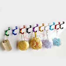 Colorful Clothing Hooks Space Alumimum Home DIY Towel Wall-mounted Hooks Hangers