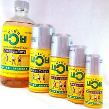 Original Namman Muay Oil For thai Boxing Liniment Massage Muscle Pain Relief 2