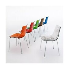 CALLIGARIS ICE DINING CHAIR – BOVEARDS DISCONTINUED PRODUCT – CLEARANCE PRICE