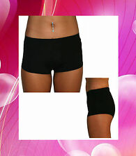 Black Fitness Shorts suitable for Pole Dancing, Yoga, Dance, Crossfit