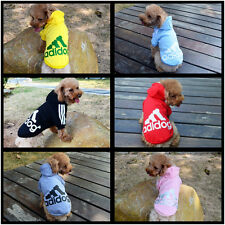 Fashion 6 Color 5 Size Pet Puppy Dog Cat Coat Clothes Hoodie Sweater Costumes
