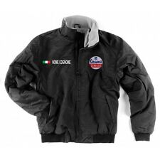 GIUBBINO JACKET VESPA SERVIZIO NERO BLACK INTERNO PILE SCALDACOLLO PATCH SHIRT M