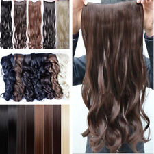 Clearance Sale Half Head Clip In Hair Extensions 5 Clips UK Seller 1st Class Tfs