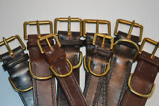 dog collar leather dog collars made to meassure quality strong fittings stitched
