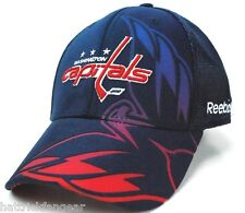 REEBOK TX75Z NHL SECOND SEASON FLEX FIT HOCKEY HAT - WASHINGTON CAPITALS