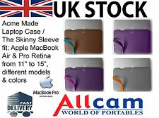 Acme Made Laptop Case / The Skinny Sleeve for Apple MacBook Air and Pro,New