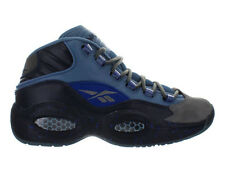 Mens Reebok Question Mid Stash Grey Navy Ultramarine V61041