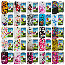For Samsung Galaxy S4 S IV i9500 Design TPU Rubber Soft Case Cover Accessory