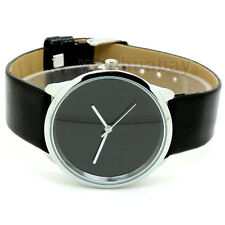 Fashion Casual Simple Quartz Wrist Watch Faux Leather Band Gifts (3 Colors) C365