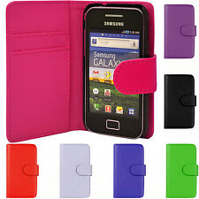 Leather Magnetic Flip Phone Case Cover For Samsung Galaxy Ace S5830 GT-S 5839i
