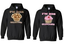 Couple matching I'm Her Studmuffin & I'm His Cupcake - Hoodies