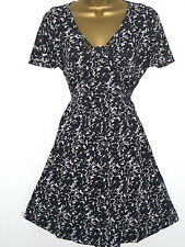 FRENCH CONNECTION NAVY MARBLE POOL DRESS SIZE 6 - 16 NEW £55 JERSEY TEA TUNIC