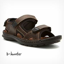 New Clarks Men's SWING AWAY Brown Leather Sandal 65907