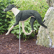 ITALIAN GREYHOUND DOG IN GAIT GARDEN STAKE *CHOICE OF BREED COLORS