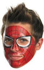 LICENSED ADULT SPIDERMAN SPIDER MAN FACE PAINT TATTOO MASK FANCY DRESS COSTUME