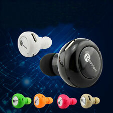 Universal Mini Bluetooth 4.0 Earpiece Earphone Handsfree For Mobile Phone PC Tab