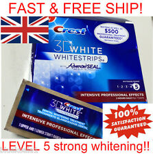 CREST3D INTENSIVE PROFESSIONAL EFFECTS teeth whitening strips LEVEL 5 STRONGEST