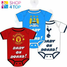 OFFICIAL LICENSED FOOTBALL SOCCER CLUB BABY ON BOARD CAR HANGER HANG UP SIGN NEW
