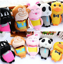 HOT Sweet Cartoon Couple Slippers Womens Comfort Mens Winter Warm Lovers Shoes