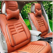 Fashion Car Seat Cover Needlework PU leather fit for all car 8pcs