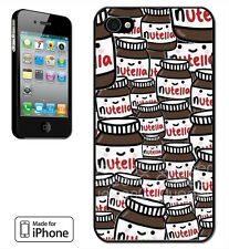 Made for iPhone 4, 4S, 5, 5S, 5C Case Nutella Sweet Cute Funny Joke