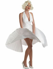 Ladies Marilyn Monroe Hollywood Star Movie Fancy Dress Costume Women Celebrity