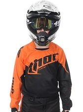 Thor Orange 2015 Phase Tilt Kids MX Jersey
