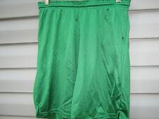 Sports Belle Practice Athletic Soccer Gym Track Sports Shorts Green and Black
