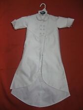 Baby Boy Christening Baptism white Suit/ 2 pieces Outfit/ Sizes: M to XL