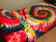Custom Tie dye tye Dye sheet set    Brilliant Colors-Twin To King