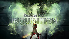 DRAGON AGE INQUISITION GAME HUGE RPG MOSAIC POSTER 35 INCH x 25 INCH