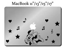 MINNIE MOUSE Decal LAPTOP / MACBOOK Mac Pro Air Sticker Apple Disney M135