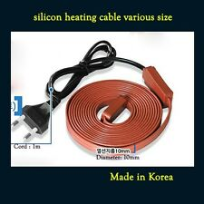 New Heating Cable for Pipe Freeze Protection Roof Snow De-Icing Kit