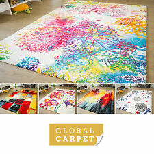 Modern Designer Rug Picasso - multi-coloured - 3 sizes + 5 designs available