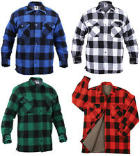 Rothco Extra Heavyweight Buffalo Plaid Sherpa-Lined Flannel Jacket