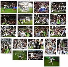 Real Madrid - Champions League Winners 2014 - A4/A3  Photo Print Selection