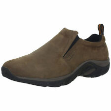 Men's Merrell Jungle Moc Slip On Shoe Brown Nubuck J60831