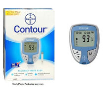 Bayer Contour Glucose Meter Kit #9556C. You can even add strips and lancets