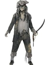 Adult Mens Ghost Ship Ghoul Halloween Fancy Dress Costume Outfit